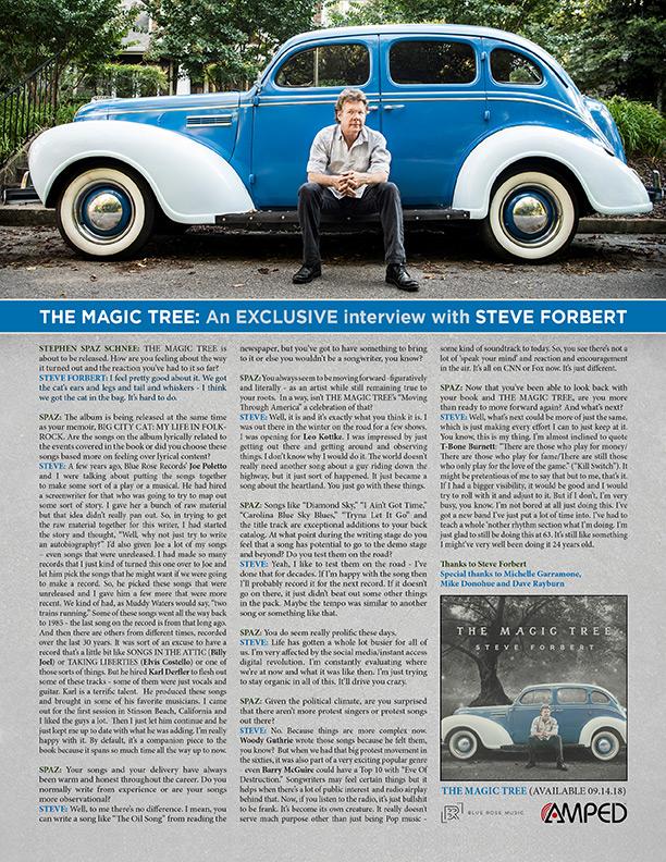 STEVE FORBERT: An EXCLUSIVE interview! – Alliance